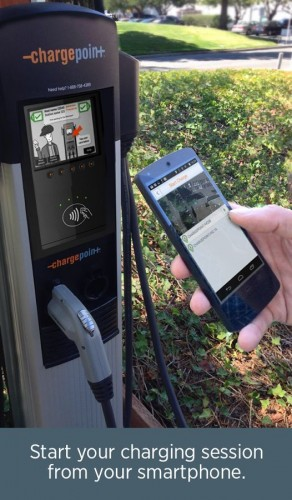 New Chargepoint App goes Live