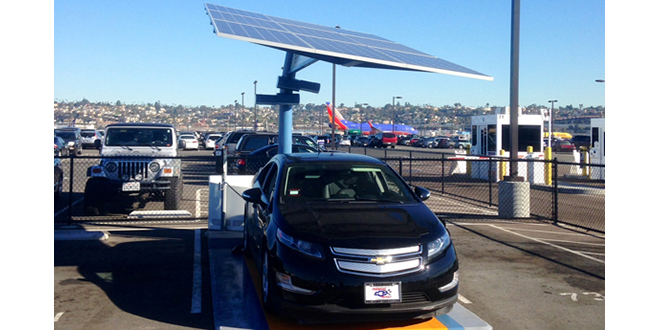 California city installs Envision Solar EV charging station