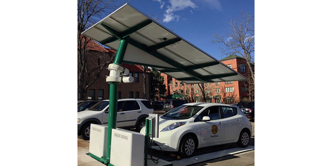 City of Boulder deploys two EV ARC standalone solar charging stations